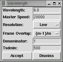 wavelength window