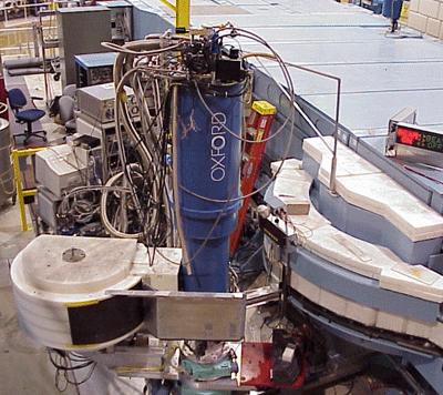 Photograph of NCNR's Spin Polarized          Inelastic Neutron Spectrometer (SPINS)